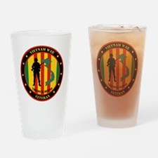 Vietnam War Veteran - This Well Defend Patch Drink