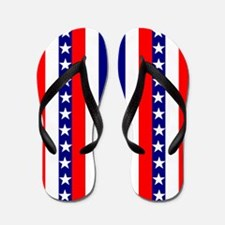 July Fourth Flip Flops