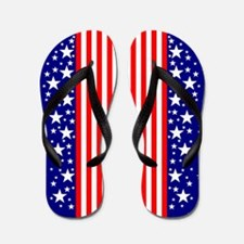 Fourth of July Flip Flops
