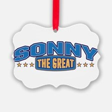 The Great Sonny Ornament
