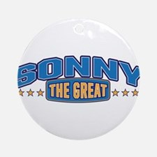 The Great Sonny Ornament (Round)
