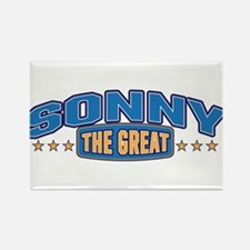 The Great Sonny Rectangle Magnet