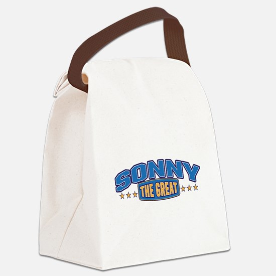 The Great Sonny Canvas Lunch Bag