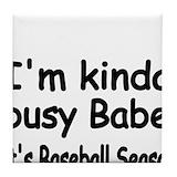 Baseball dad Drink Coasters