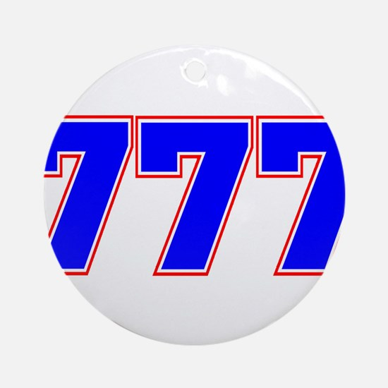 777 GOD Ornament (Round)