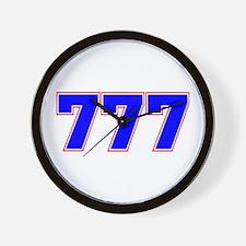 777 GOD Wall Clock