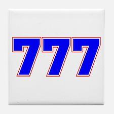 777 GOD Tile Coaster