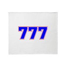 777 GOD Throw Blanket