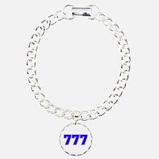 777 GOD Charm Bracelet, One Charm