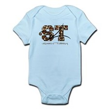 ST Camo Giraffe Infant Bodysuit