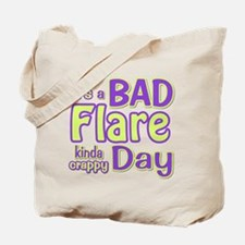 its a Bad Flare kinda crappy day Tote Bag