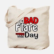 its a Bad Flare kinda crappy day Tote Bag