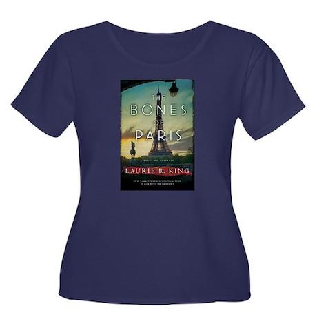 Bones of Paris Cover Plus Size T-Shirt (dark)