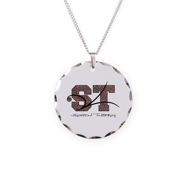 st camo necklace circle charm by artnseoul