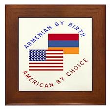 Armenia Birth USA Choice Framed Tile
