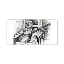 Sweet Old Banjo Aluminum License Plate