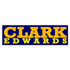 Clark-Edwards 2008 bumper sticker