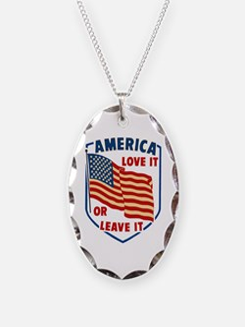 America Love it Necklace