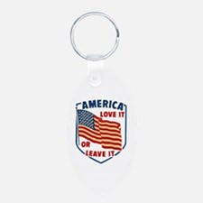 America Love it Keychains
