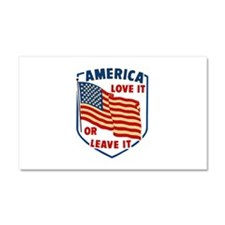 America Love it Car Magnet 20 x 12
