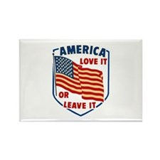 America Love it Rectangle Magnet (100 pack)