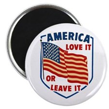 America Love it Magnet