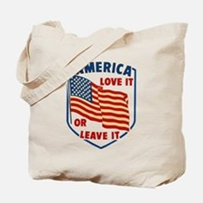 America Love it Tote Bag