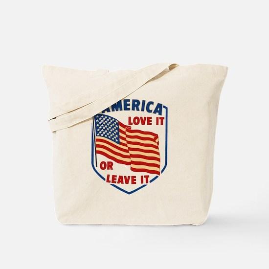 America Love it Tote Bag