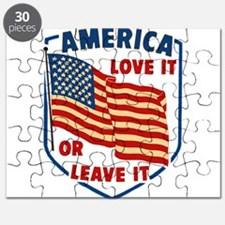 America Love it Puzzle