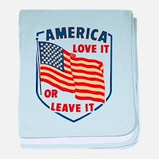 America Love it baby blanket