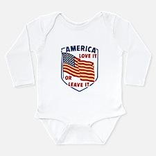 America Love it Body Suit