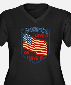 America Love it Plus Size T-Shirt