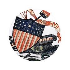 "Vintage American Shield 3.5"" Button"