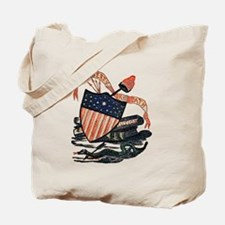 Vintage American Shield Tote Bag