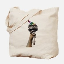 hand_and_torch.png Tote Bag