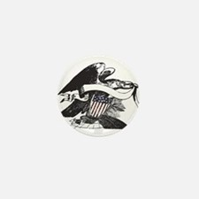bw eagle.png Mini Button (10 pack)