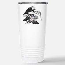 bw eagle.png Travel Mug