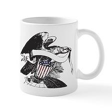 bw eagle.png Mug