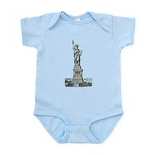 Statue of Liberty Infant Bodysuit