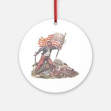 Civil War Patriot Ornament (Round)