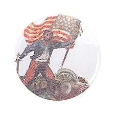 "Civil War Patriot 3.5"" Button"