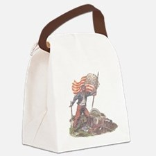 Civil War Patriot Canvas Lunch Bag