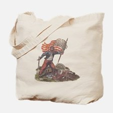 Civil War Patriot Tote Bag