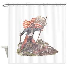 Civil War Patriot Shower Curtain
