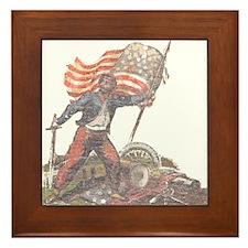 Civil War Patriot Framed Tile