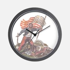 Civil War Patriot Wall Clock