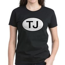 Jeep TJ Wrangler Oval T-Shirt