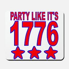 Party Like Its 1776 Mousepad