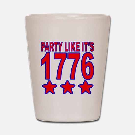 Party Like Its 1776 Shot Glass
