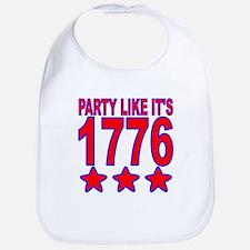 Party Like Its 1776 Bib